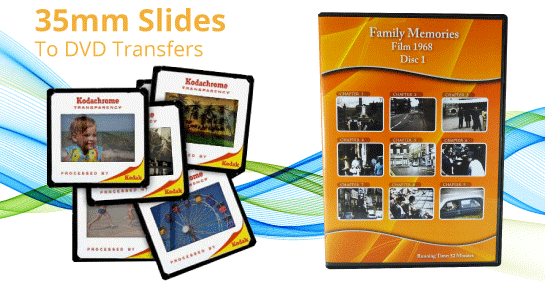 slide to dvd transfers